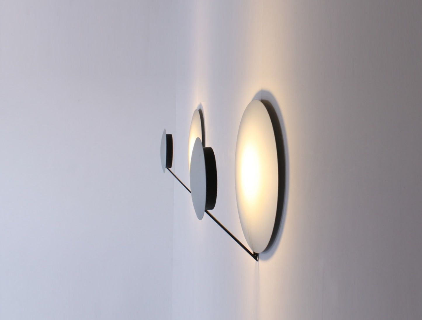Italian Aluminium Vega Sconces by Cesaro & Amico for Tre Ci Luce ...