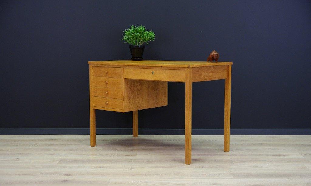 mid century schreibtisch bei pamono kaufen. Black Bedroom Furniture Sets. Home Design Ideas
