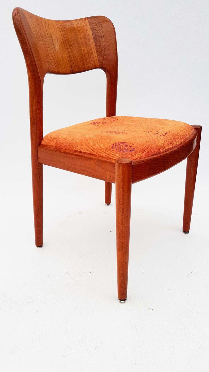 d nischer teak stuhl von niels koefoed f r hornslet m belfabrik 1960er bei pamono kaufen. Black Bedroom Furniture Sets. Home Design Ideas