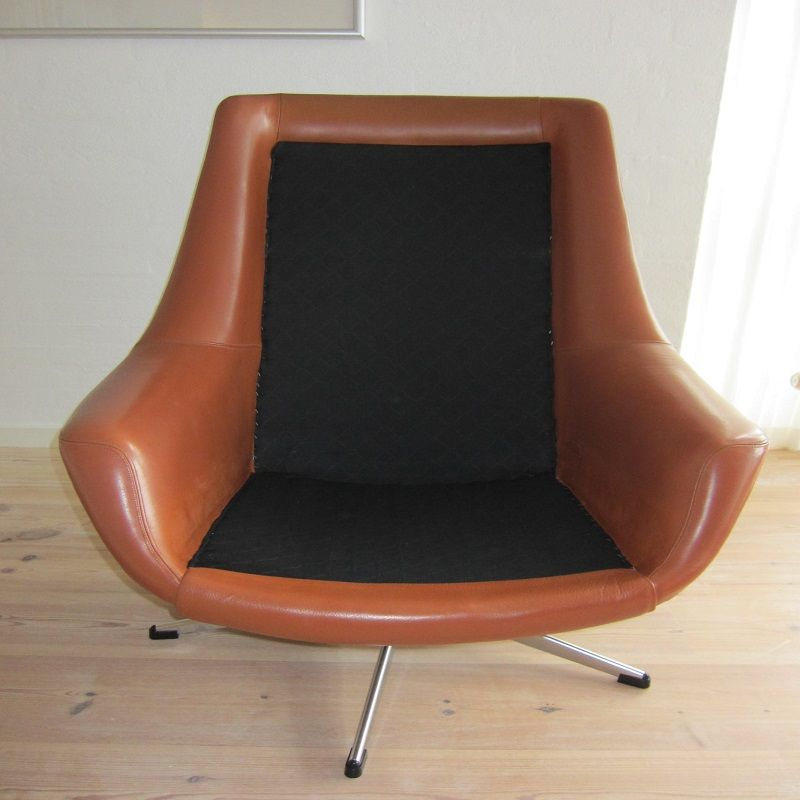 lounge chair by h w klein for bramin 1960s for sale at. Black Bedroom Furniture Sets. Home Design Ideas