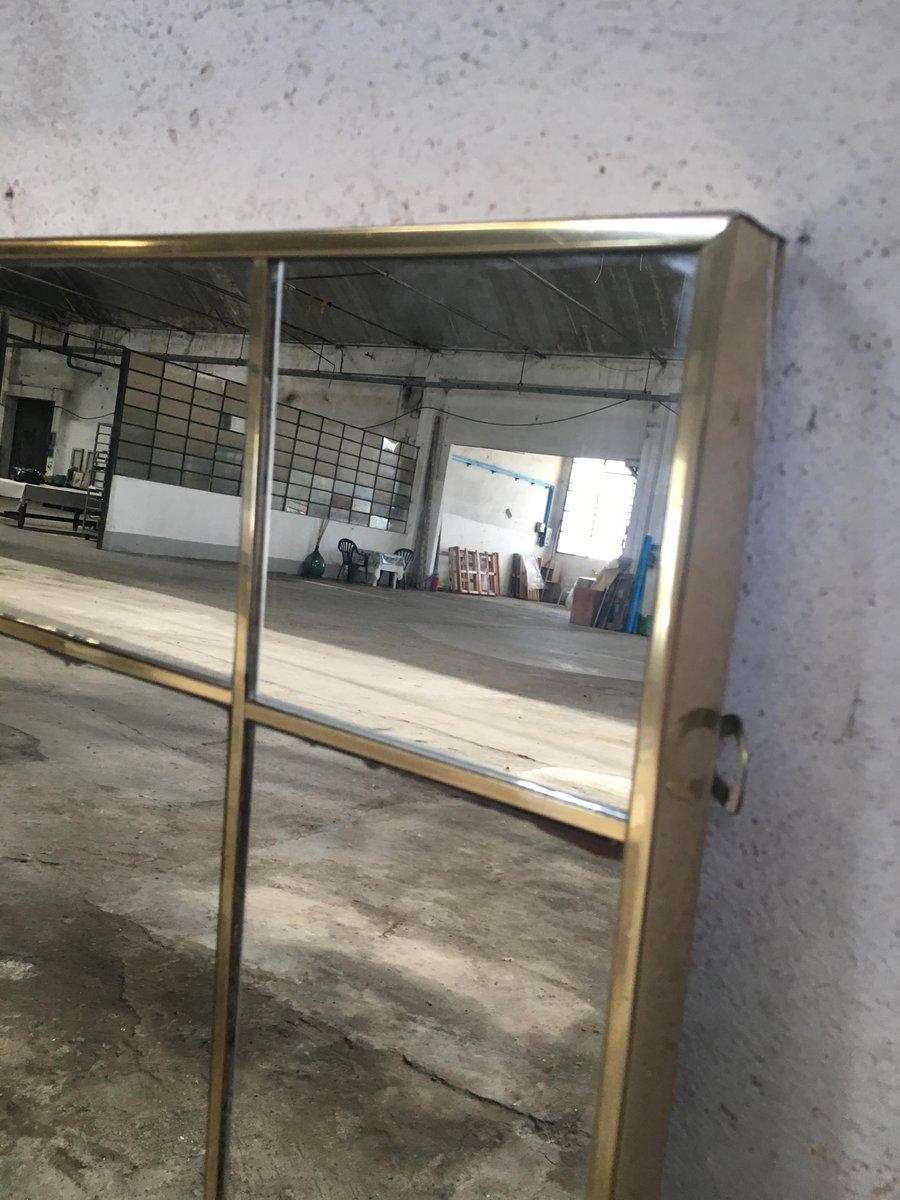 italienischer spiegel mit vergoldetem rahmen 1970er bei. Black Bedroom Furniture Sets. Home Design Ideas