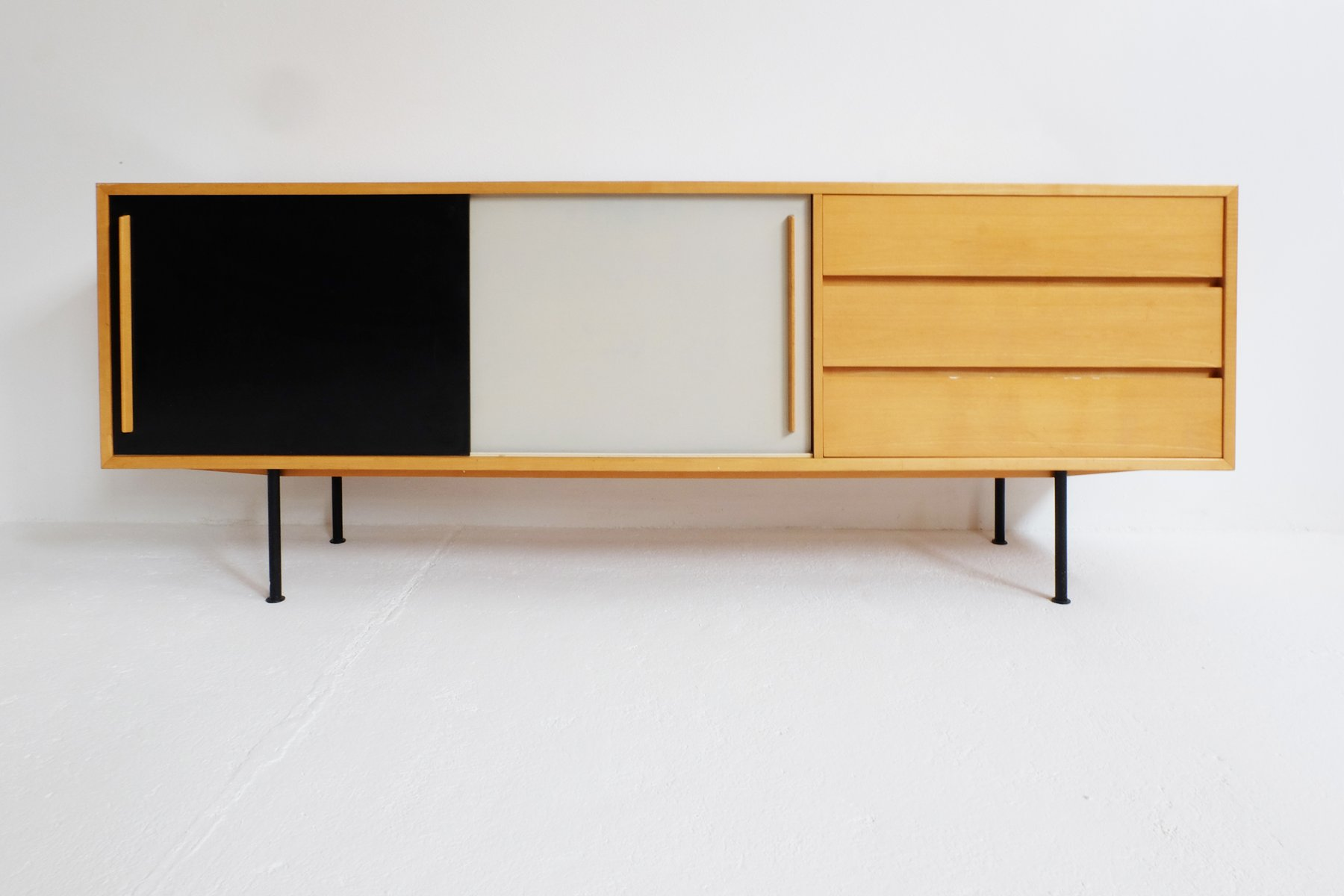 vintage swiss sideboard by kurt thut for thut m bel for. Black Bedroom Furniture Sets. Home Design Ideas