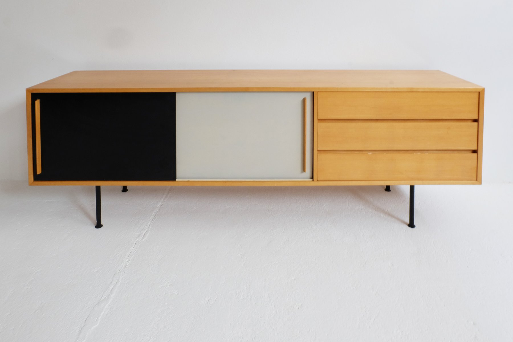Vintage swiss sideboard by kurt thut for thut m bel for for Sideboard 2 m breit
