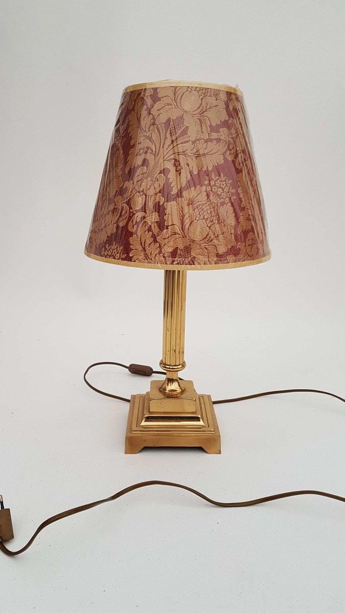deutsche vintage tischlampe aus messing 1980er bei pamono kaufen. Black Bedroom Furniture Sets. Home Design Ideas