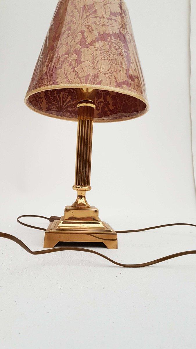 deutsche vintage tischlampe aus messing 1980er bei pamono. Black Bedroom Furniture Sets. Home Design Ideas