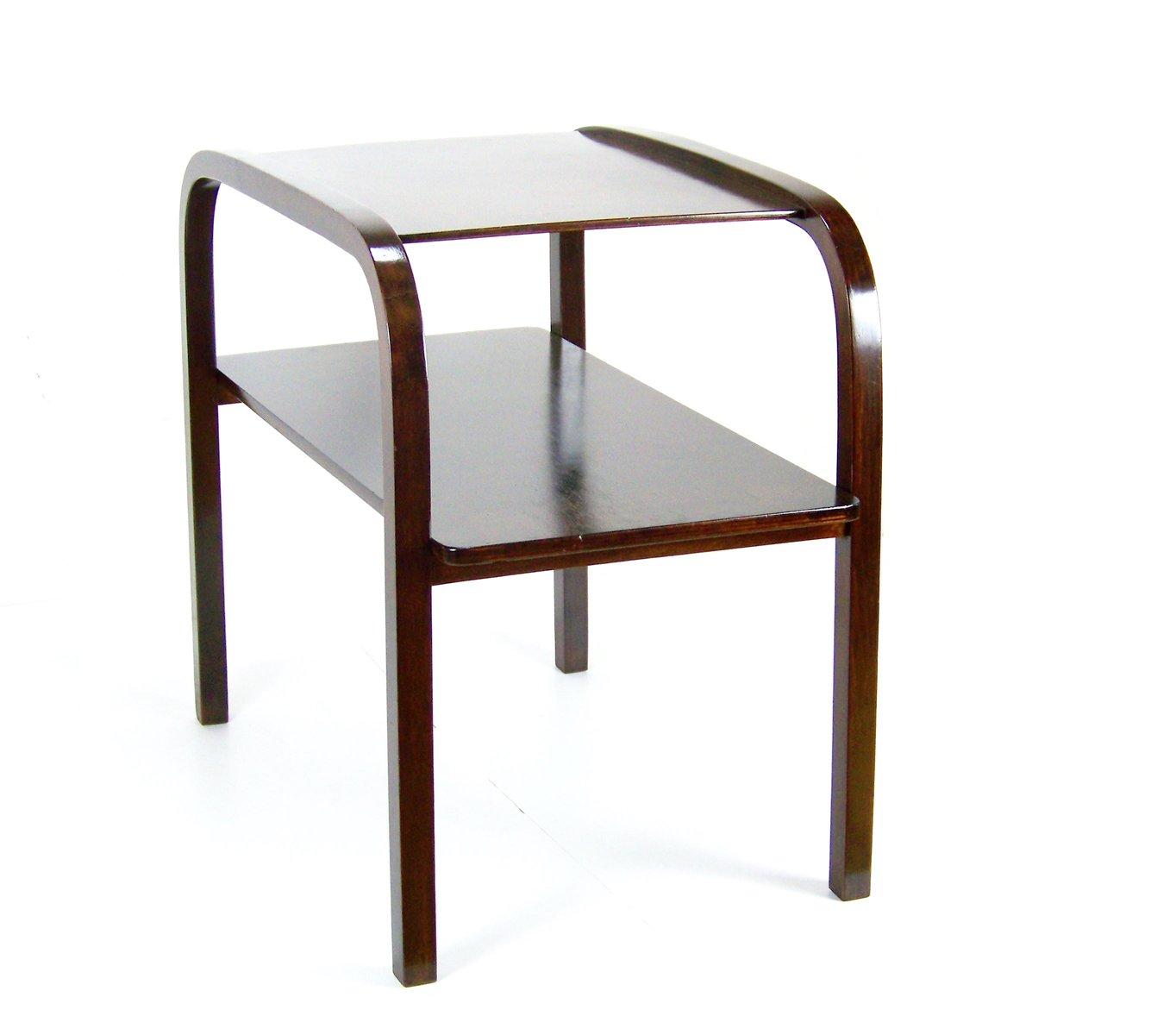 kleiner tisch aus bugholz 1930er bei pamono kaufen. Black Bedroom Furniture Sets. Home Design Ideas