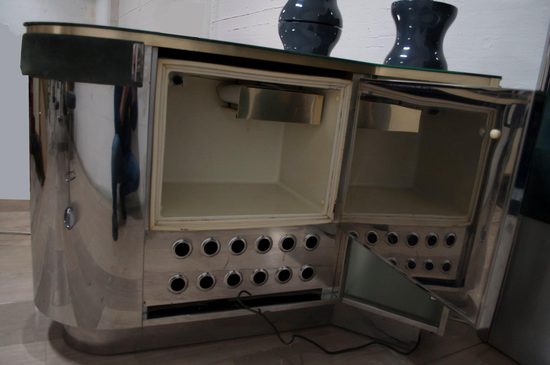mobile bar von willy rizzo 1970er bei pamono kaufen. Black Bedroom Furniture Sets. Home Design Ideas