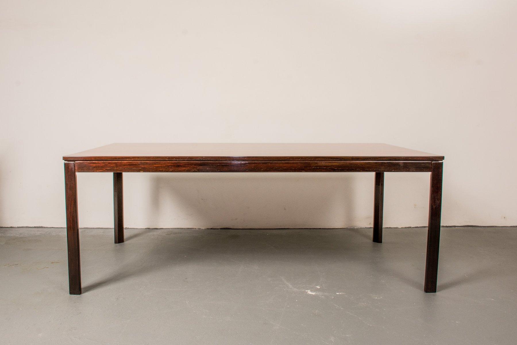 table basse en palissandre danemark 1960s en vente sur pamono. Black Bedroom Furniture Sets. Home Design Ideas