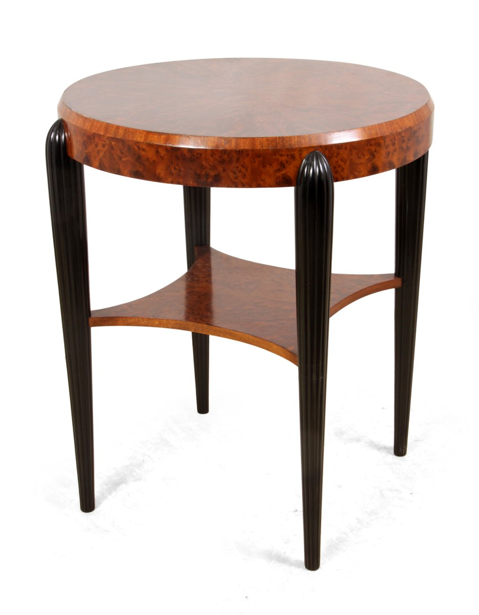 Art Deco Outdoor Furniture. Vintage Art Deco Side Table Outdoor Furniture