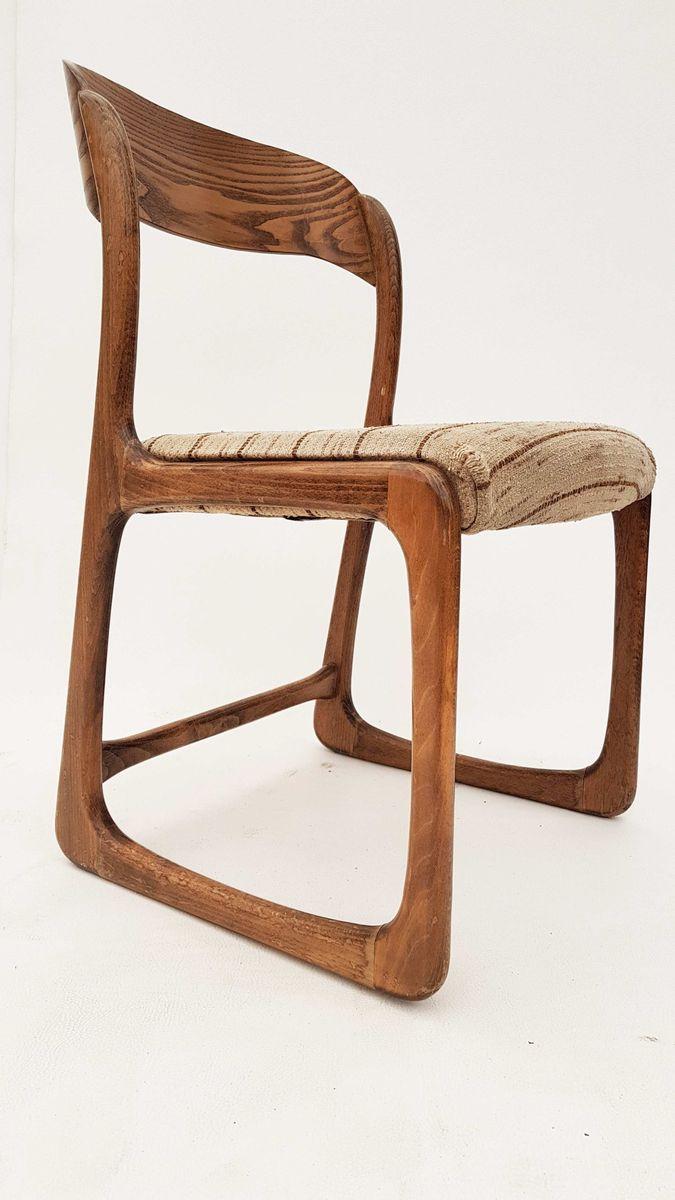 deutscher mid century eichenholz stuhl 1960er bei pamono kaufen. Black Bedroom Furniture Sets. Home Design Ideas