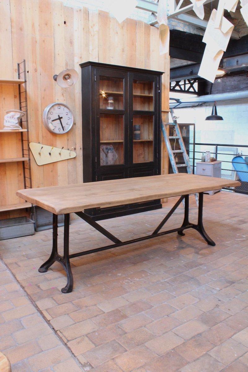 Industrieller vintage tisch bei pamono kaufen for Vintage tisch