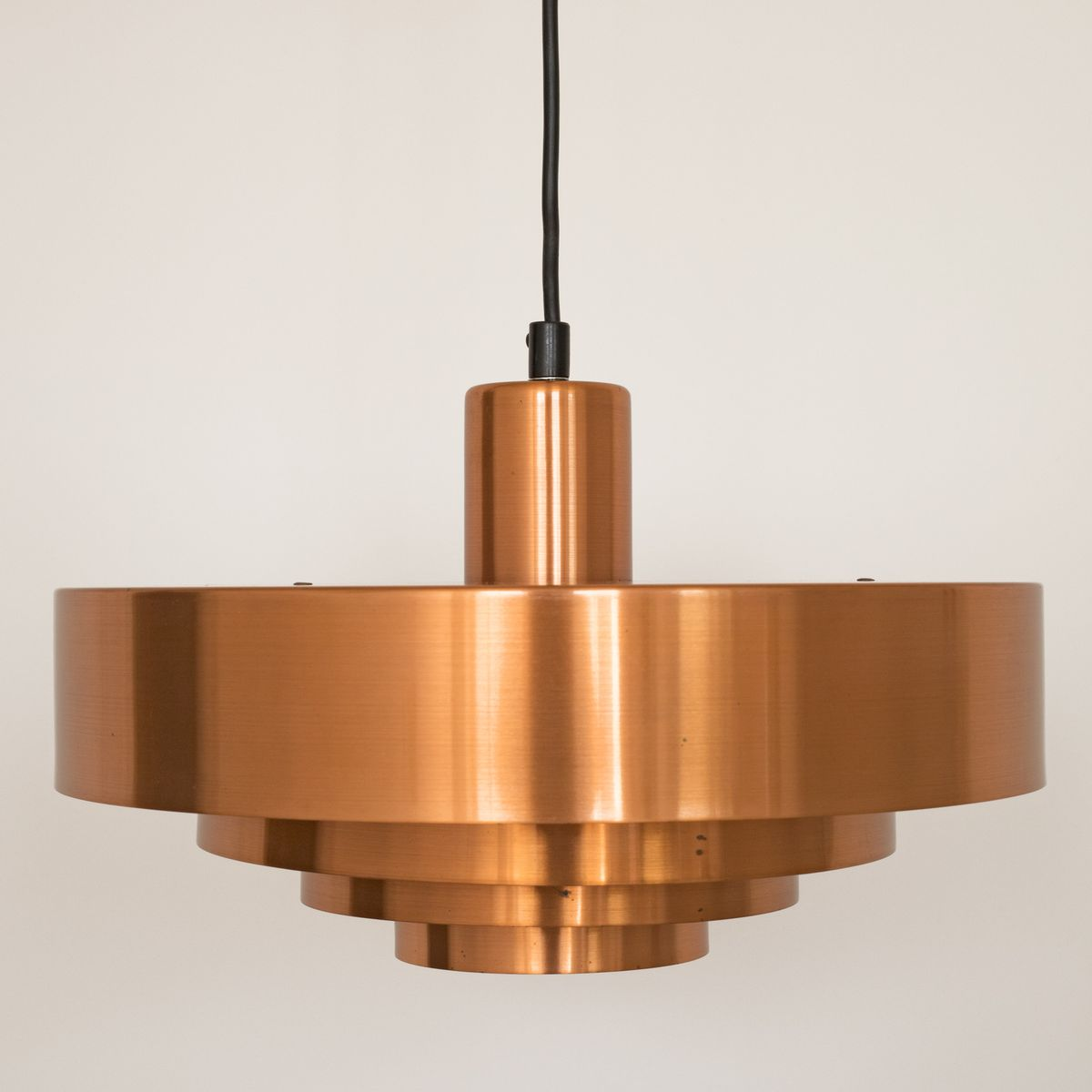 Roulet spun copper pendant light by jo hammerborg for fog mrup roulet spun copper pendant light by jo hammerborg for fog mrup 1950s aloadofball
