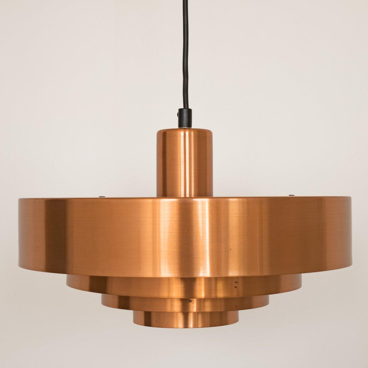 Roulet spun copper pendant light by jo hammerborg for fog mrup roulet spun copper pendant light by jo hammerborg for fog mrup 1950s aloadofball Choice Image