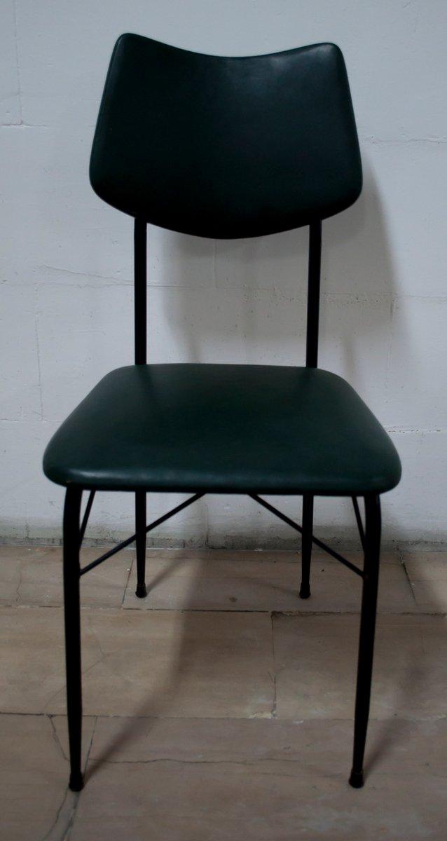 Tavolo Da Pranzo Mid Century Con Sei Sedie Anni 39 50 In