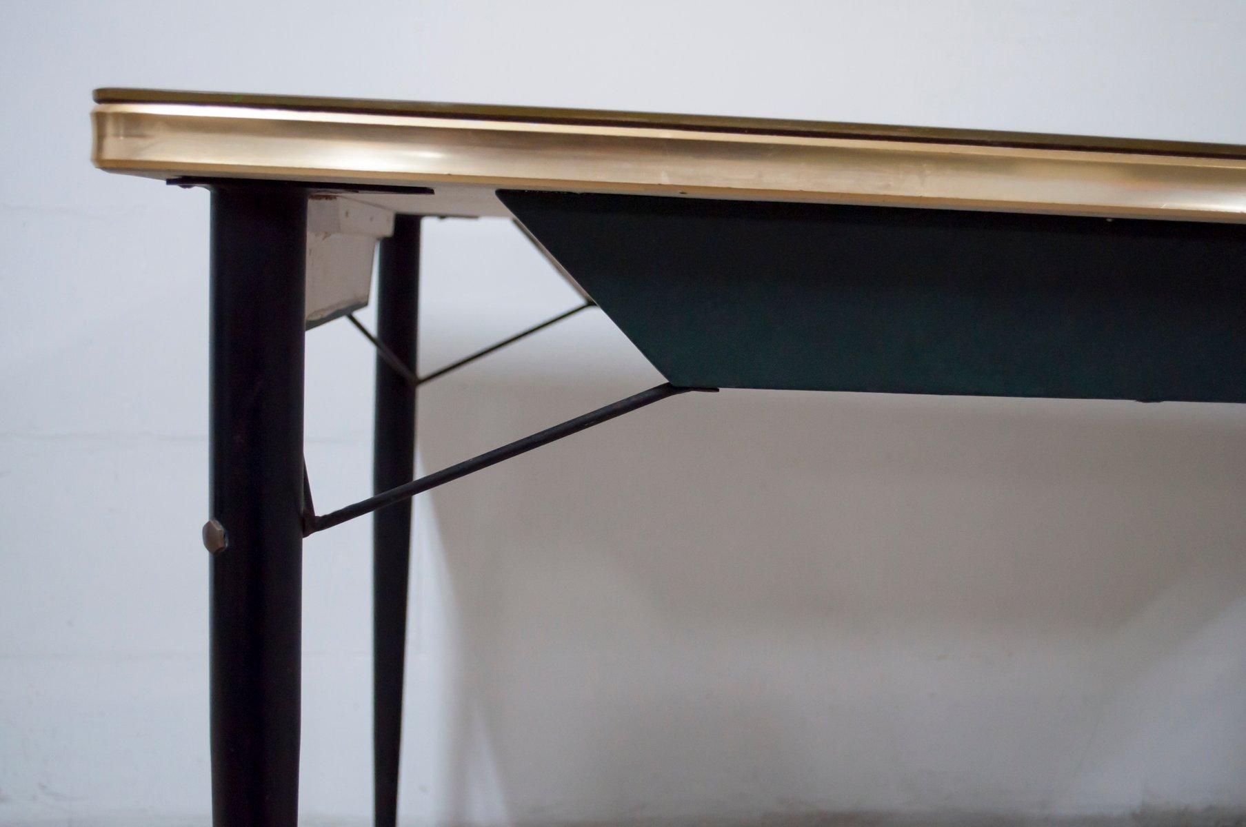 mid century esstisch und 6 st hle 1950er bei pamono kaufen. Black Bedroom Furniture Sets. Home Design Ideas
