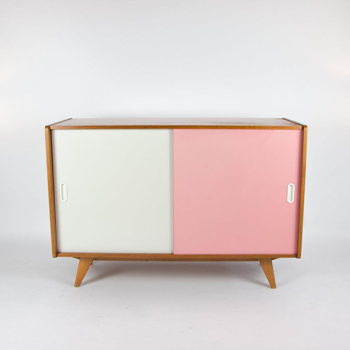 mid century sideboard von jiri jiroutek 1960er bei pamono. Black Bedroom Furniture Sets. Home Design Ideas