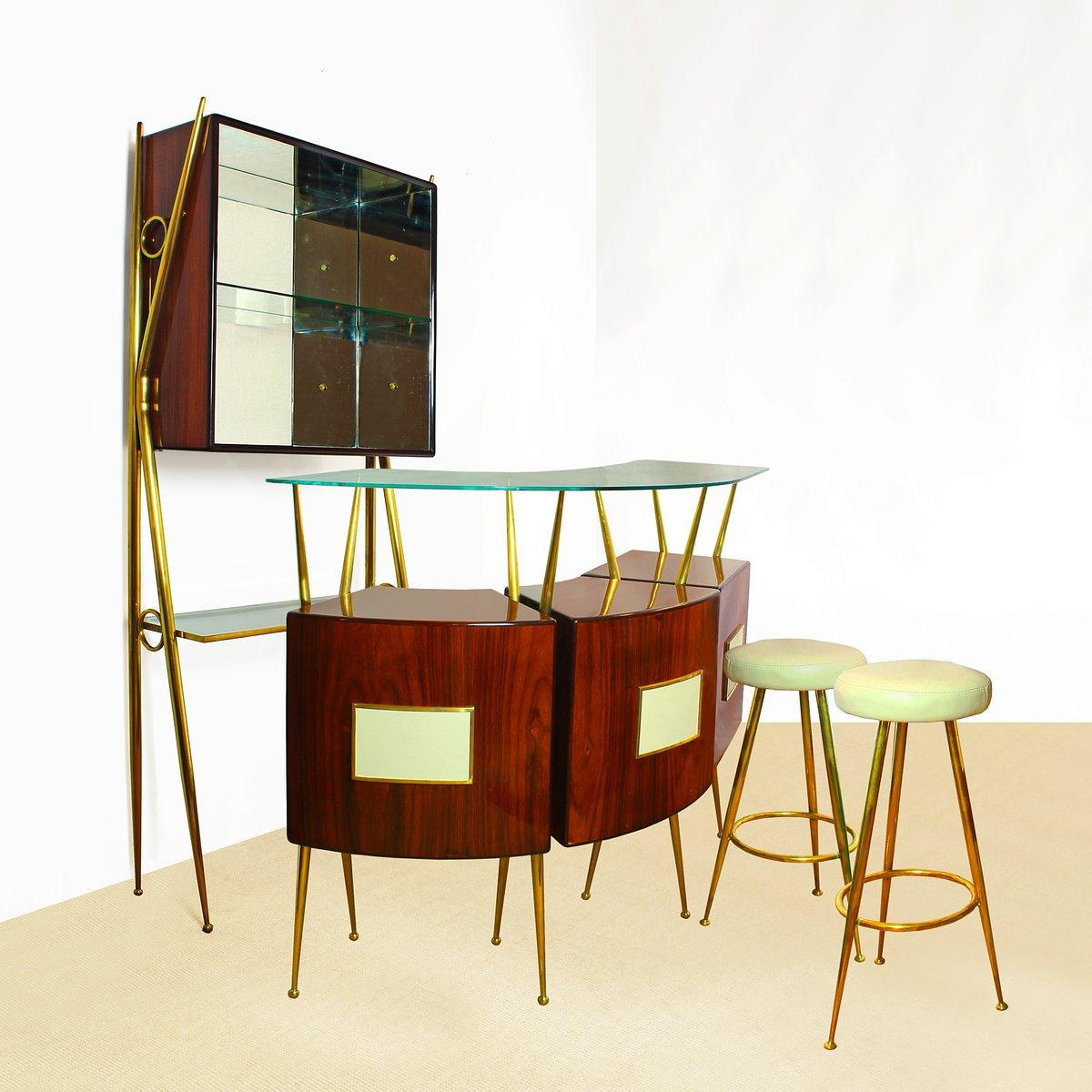 Home Bar Set, 1950s for sale at Pamono