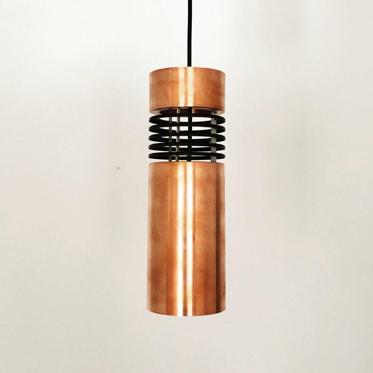 Danish copper pendant lamp 1960s for sale at pamono danish copper pendant lamp 1960s arubaitofo Choice Image