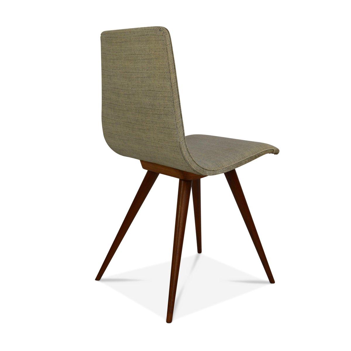 teak esszimmerst hle 1950er 4er set bei pamono kaufen. Black Bedroom Furniture Sets. Home Design Ideas