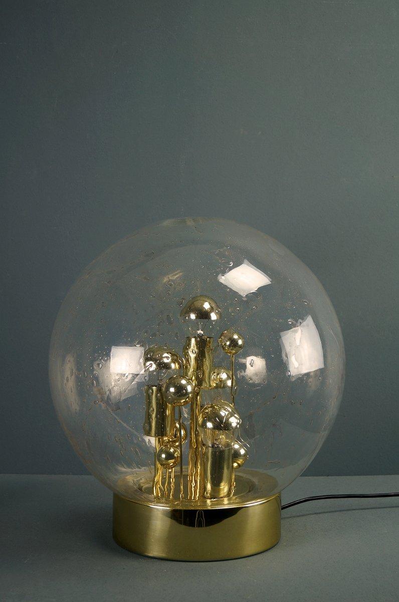 grande lampe de bureau sputnik vintage dor e de doria en vente sur pamono. Black Bedroom Furniture Sets. Home Design Ideas