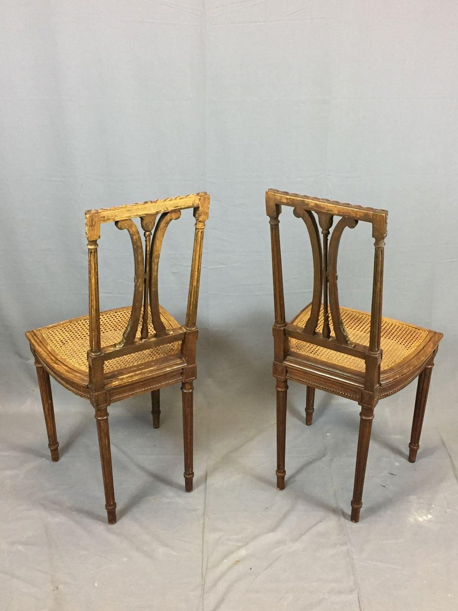 - Vintage Oak Dining Chairs, Set Of 2 For Sale At Pamono