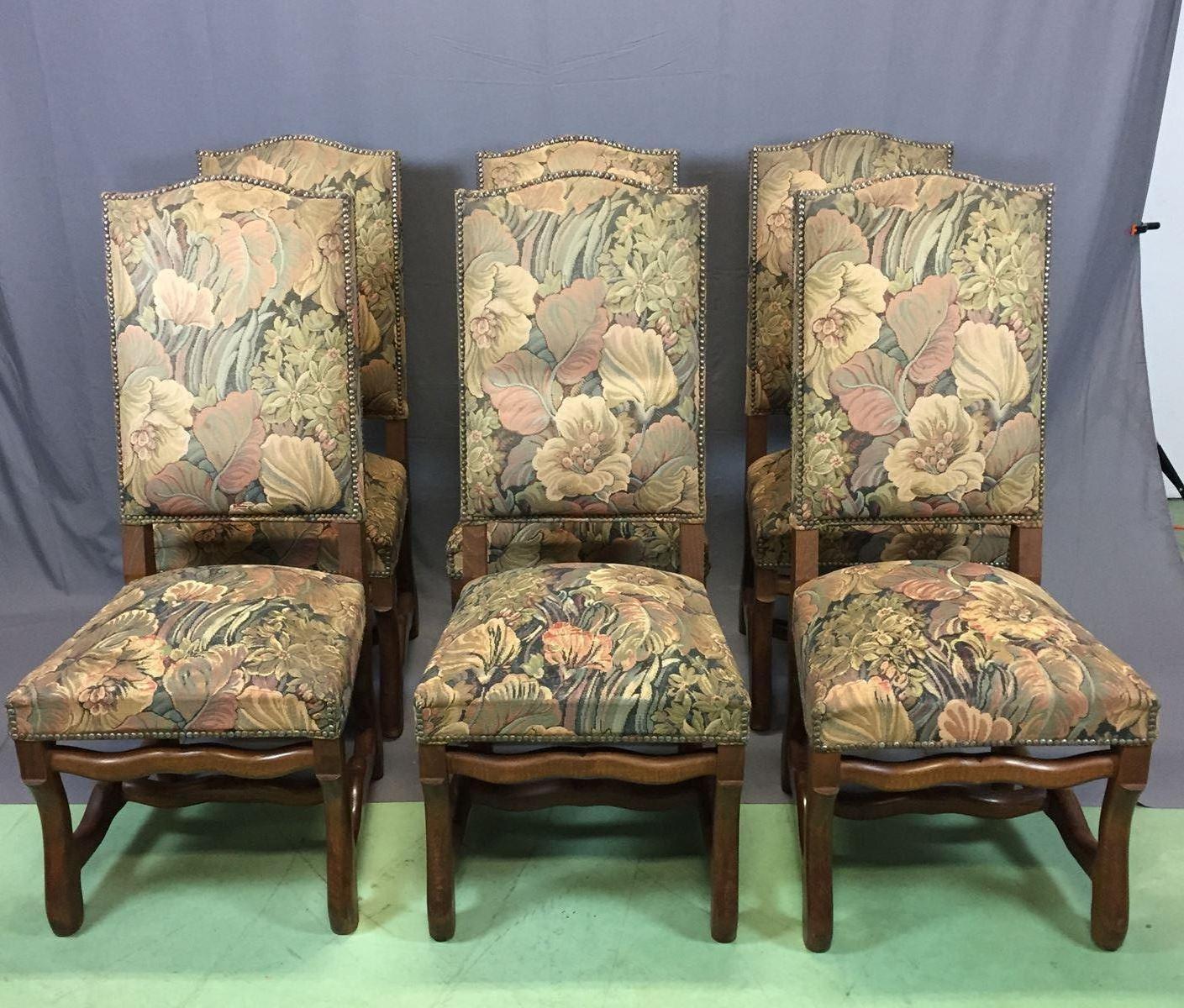 eichenholz st hle 1950er 6er set bei pamono kaufen. Black Bedroom Furniture Sets. Home Design Ideas