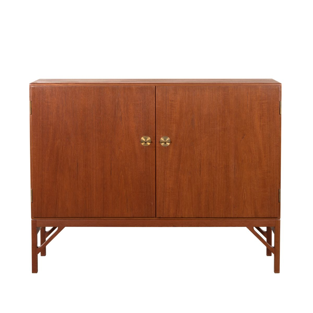 vintage teak m232 schrank von b rge mogensen f r fdb bei pamono kaufen. Black Bedroom Furniture Sets. Home Design Ideas