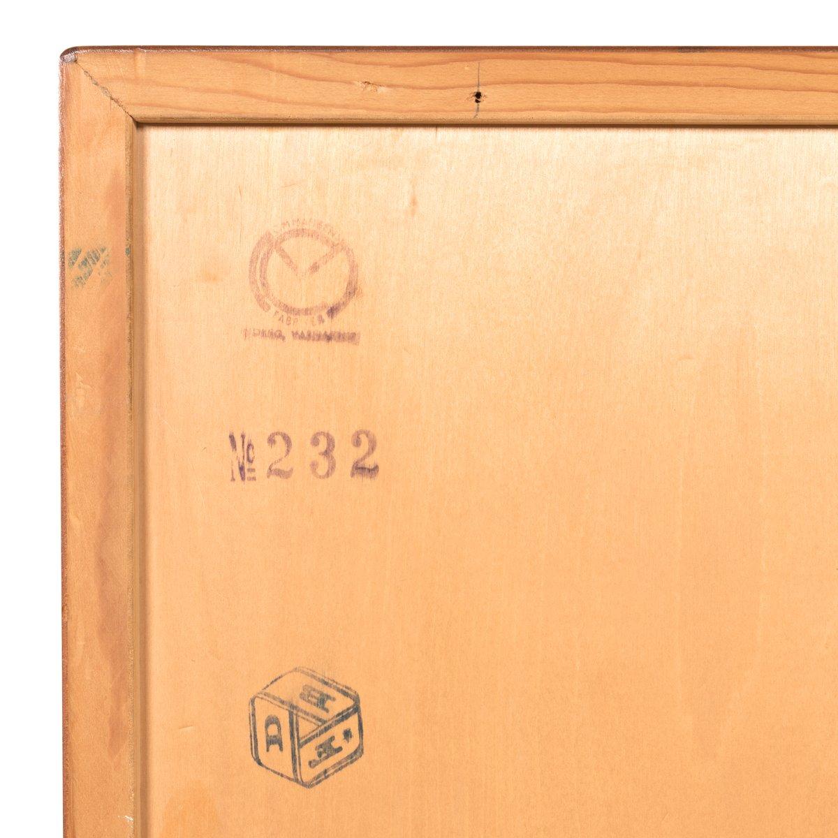 Vintage Teak M232 Cabinet by Børge Mogensen for FDB for sale at Pamono