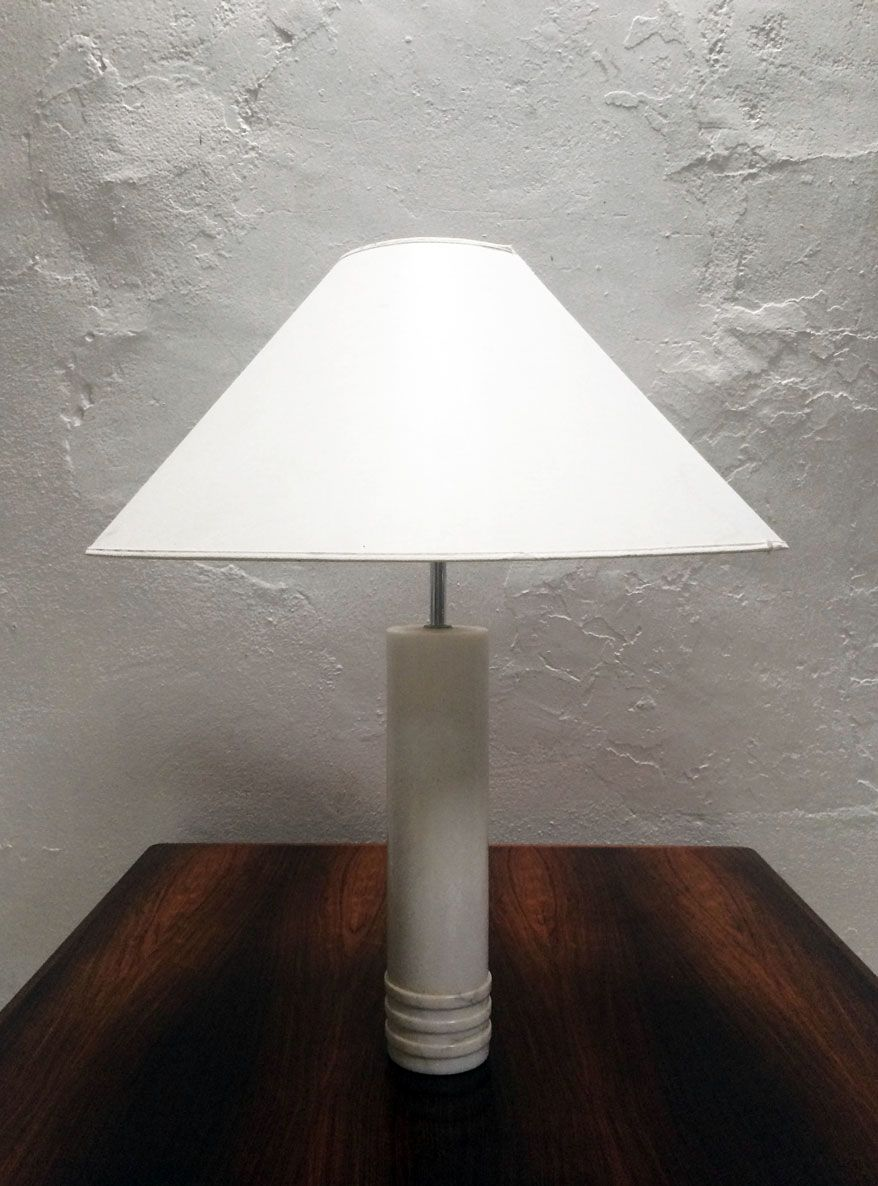 Swedish Marble Table Lamp From Bergboms, 1960s