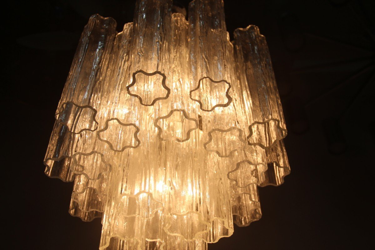 Italian Chandelier in Murano Art Glass from Venini, 1960s for sale ...