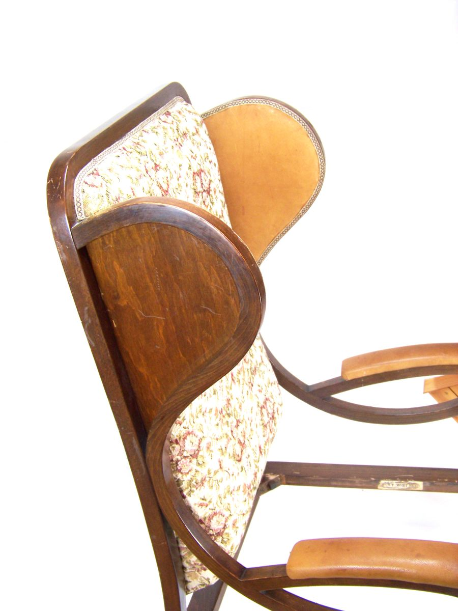 Model 6542 Viennese Secession Armchair From Thonet 1918
