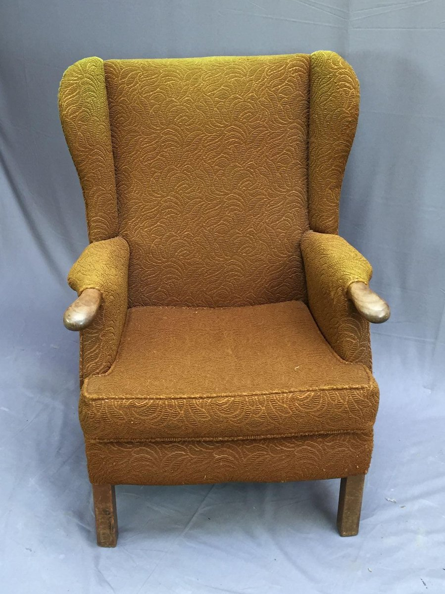 Vintage Wingback Chair For Sale At Pamono