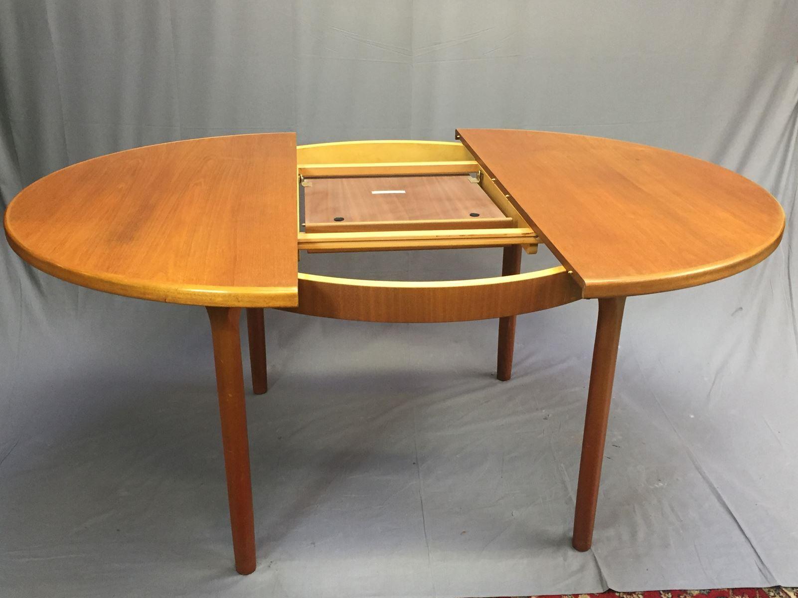 Ovaler vintage tisch im skandinavischen stil von mcintosh for Ovaler tisch