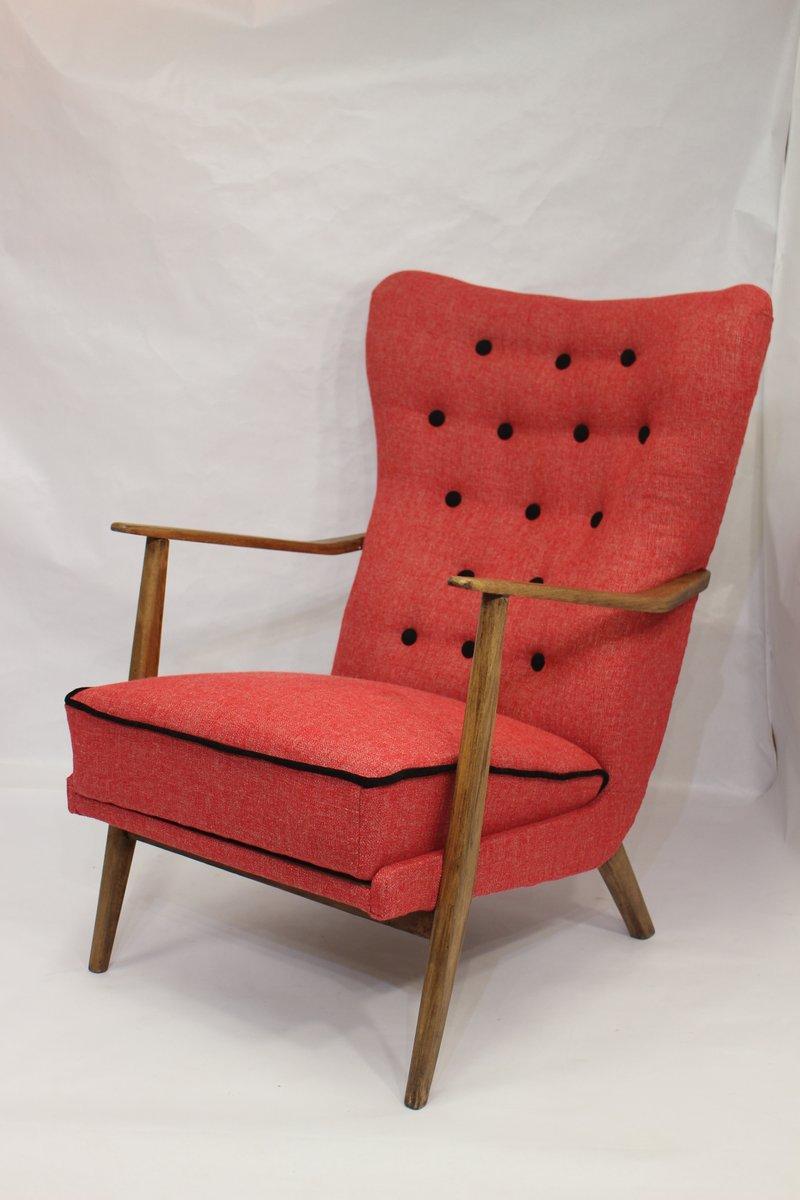 skandinavischer mid century sessel bei pamono kaufen. Black Bedroom Furniture Sets. Home Design Ideas