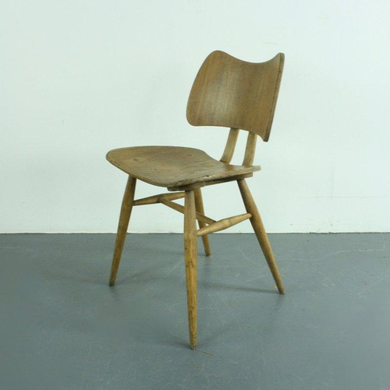 chaise butterfly vintage d ercol en vente sur pamono. Black Bedroom Furniture Sets. Home Design Ideas