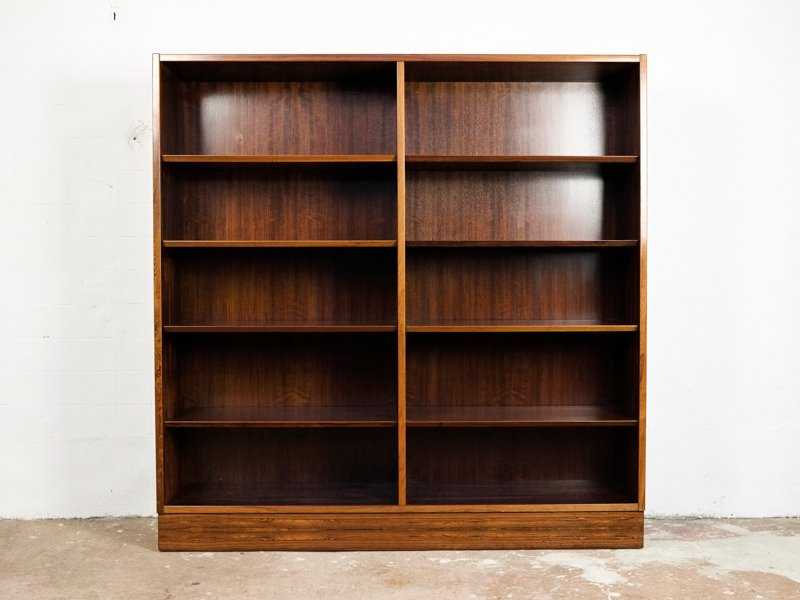Mid Century Danish Rosewood Bookcase By Poul Hundevad For Co