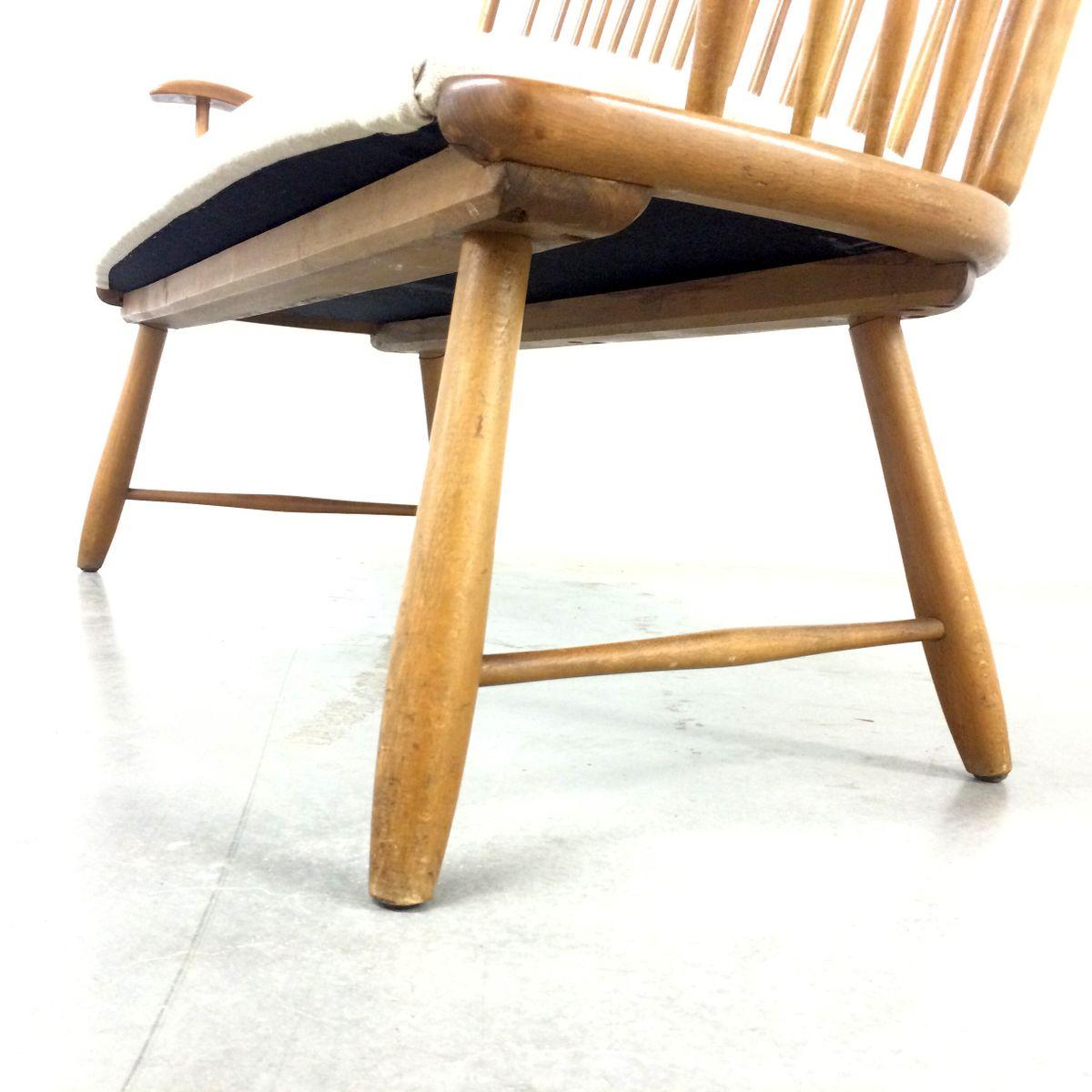 wk s7 bank von arno lambrecht f r wk m bel 1950er bei. Black Bedroom Furniture Sets. Home Design Ideas