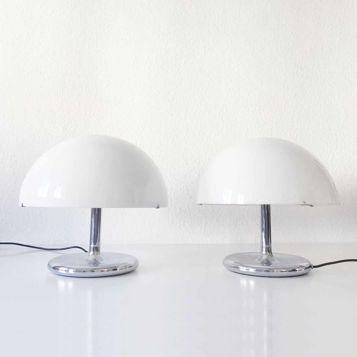 Mid century modern table lamps 1970s set of 2 for sale at pamono previous aloadofball Gallery