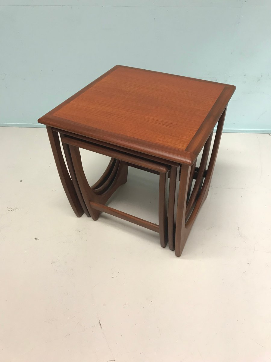 Mid Century Nesting Tables From G Plan