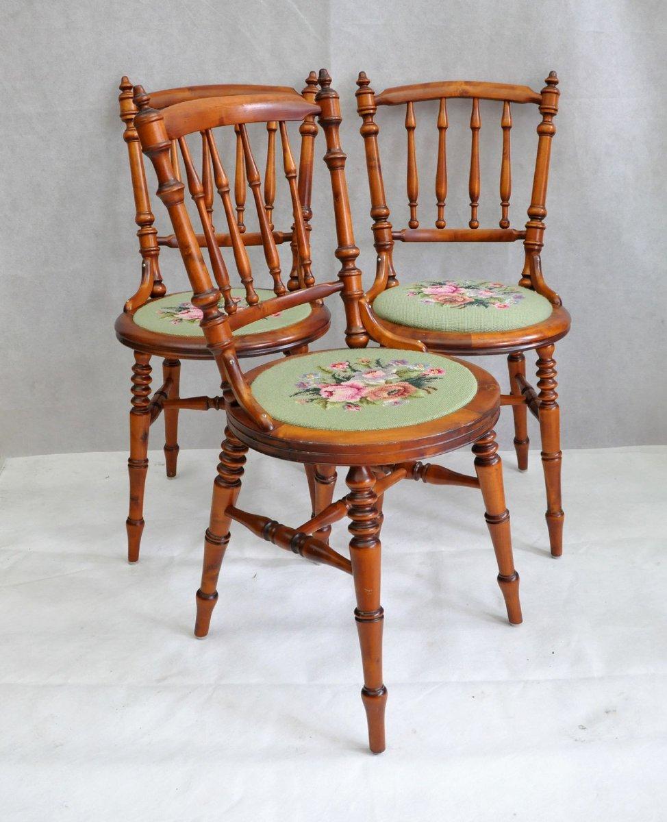 Vintage Stühle schwedische vintage stühle 3er set bei pamono kaufen