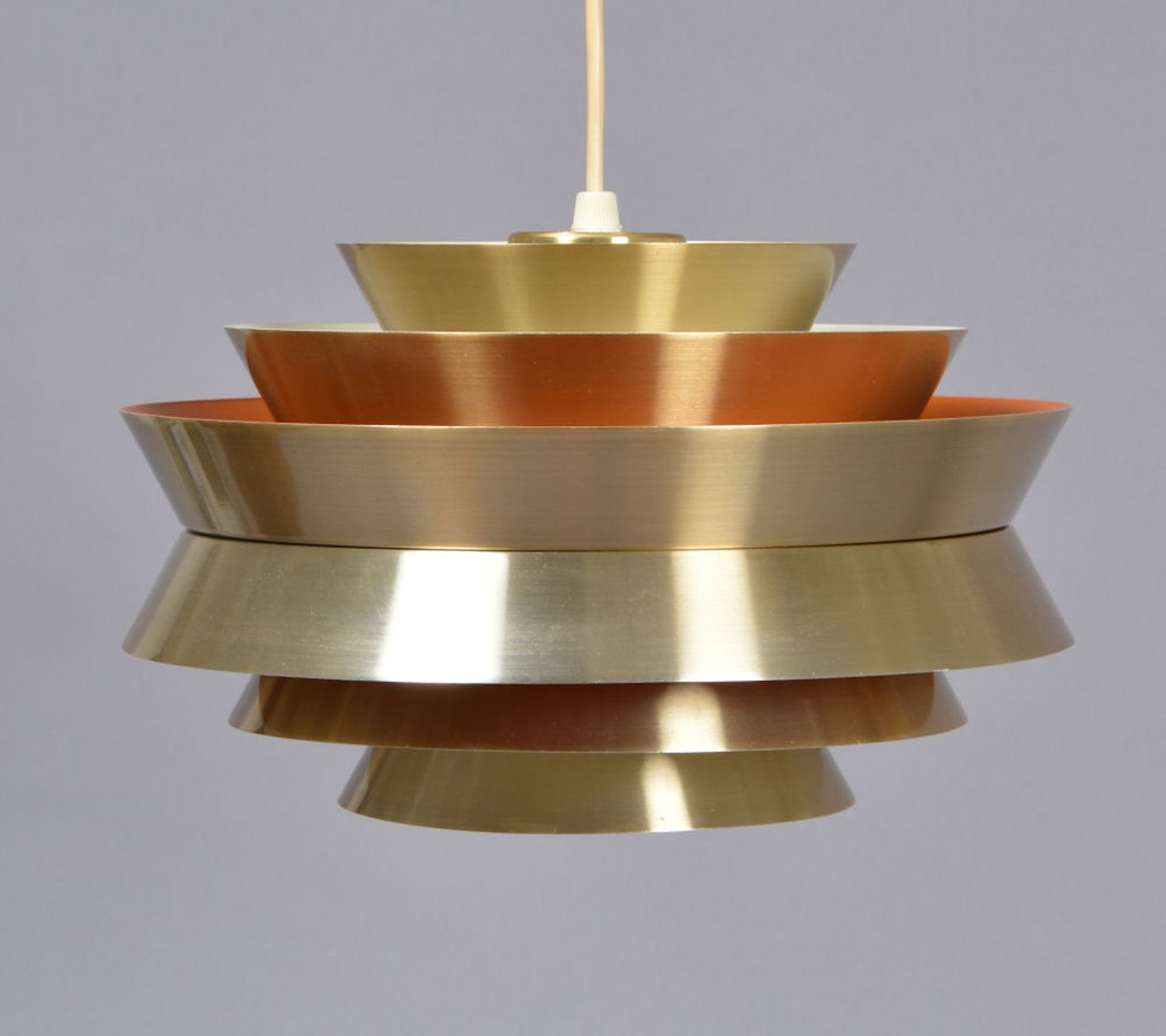 Mid Century Modern Split Level 1956 Edition Better Homes: Danish Mid-Century Pendant Lamp By Carl Thore For Granhaga