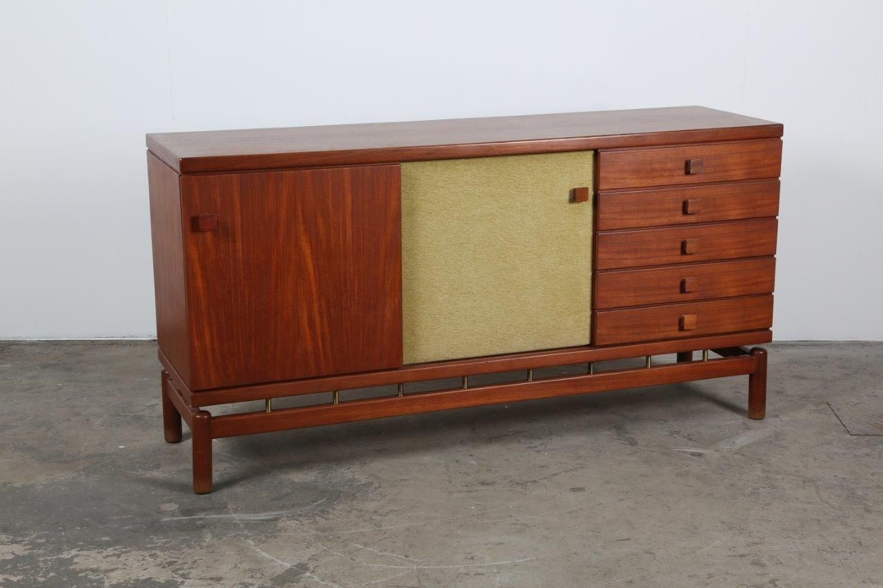italienisches mid century sideboard von ilmari tapiovaara f r la permanente mobili cant 1950er. Black Bedroom Furniture Sets. Home Design Ideas
