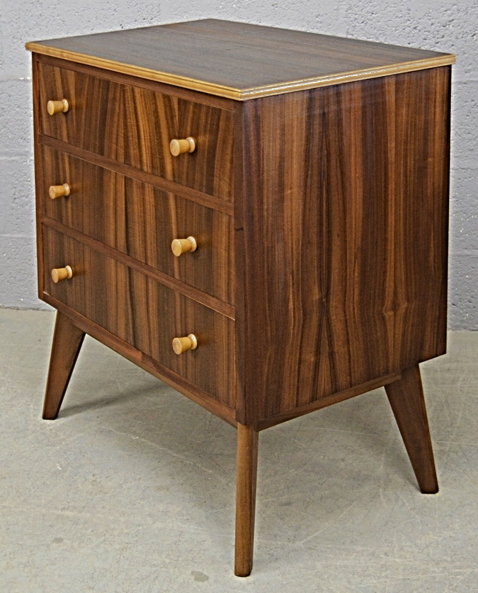australische mid century walnuss kommode von morris of glasgow bei pamono kaufen. Black Bedroom Furniture Sets. Home Design Ideas