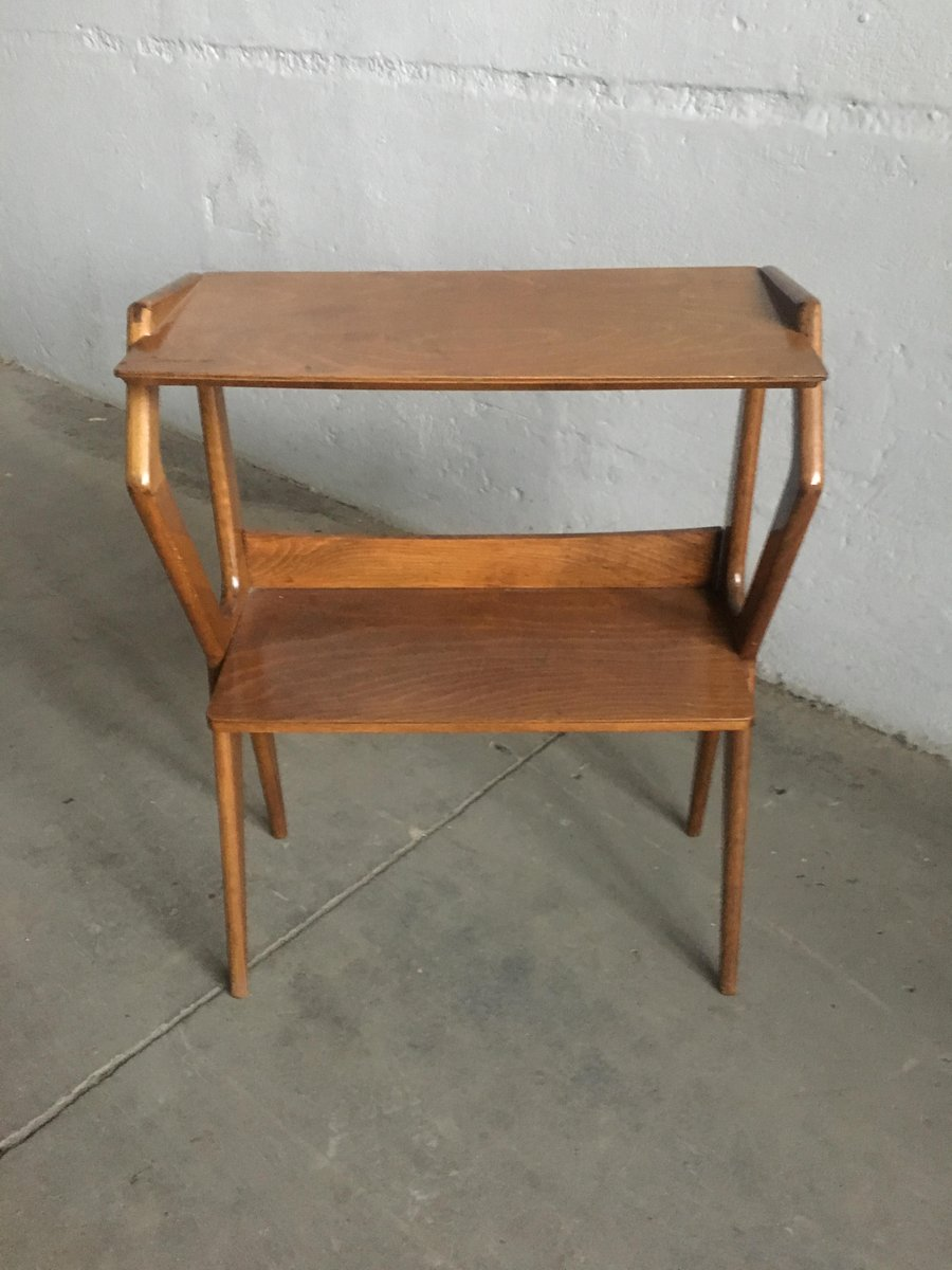 italienischer konsolentisch mit ablage 1950er bei pamono kaufen. Black Bedroom Furniture Sets. Home Design Ideas