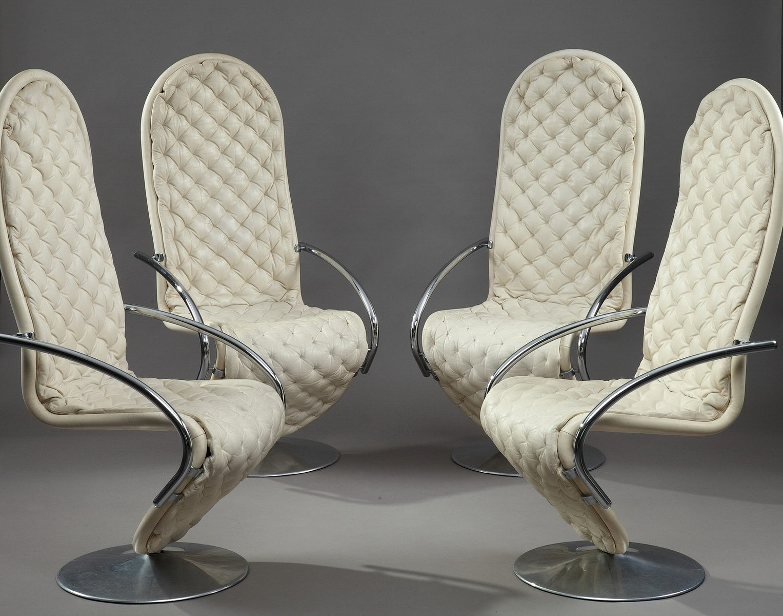 1 2 3 system stuhl von verner panton f r fritz hansen bei pamono kaufen. Black Bedroom Furniture Sets. Home Design Ideas
