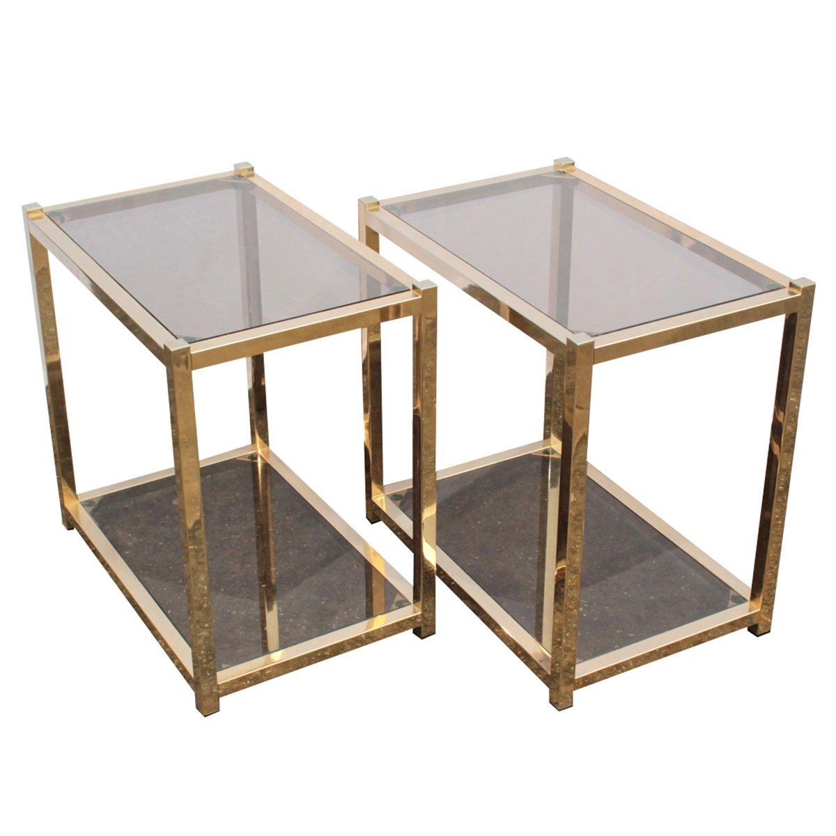 Merveilleux Vintage Outdoor Metal Side Table Designs