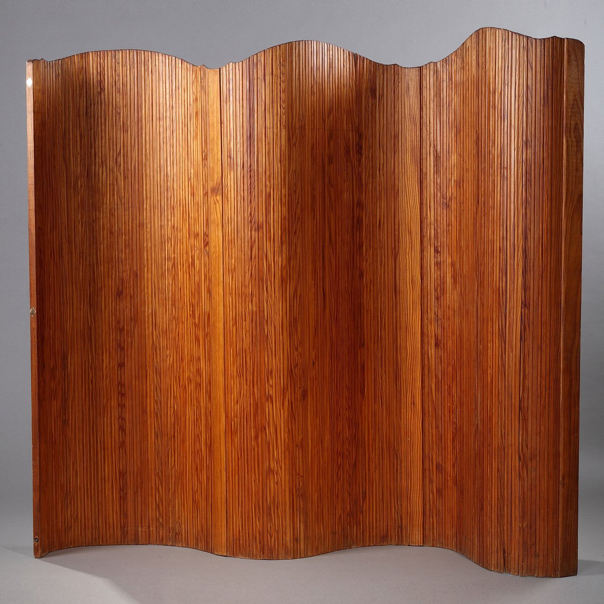 Paravento in legno curvo di Baumann, anni \'50 in vendita su Pamono
