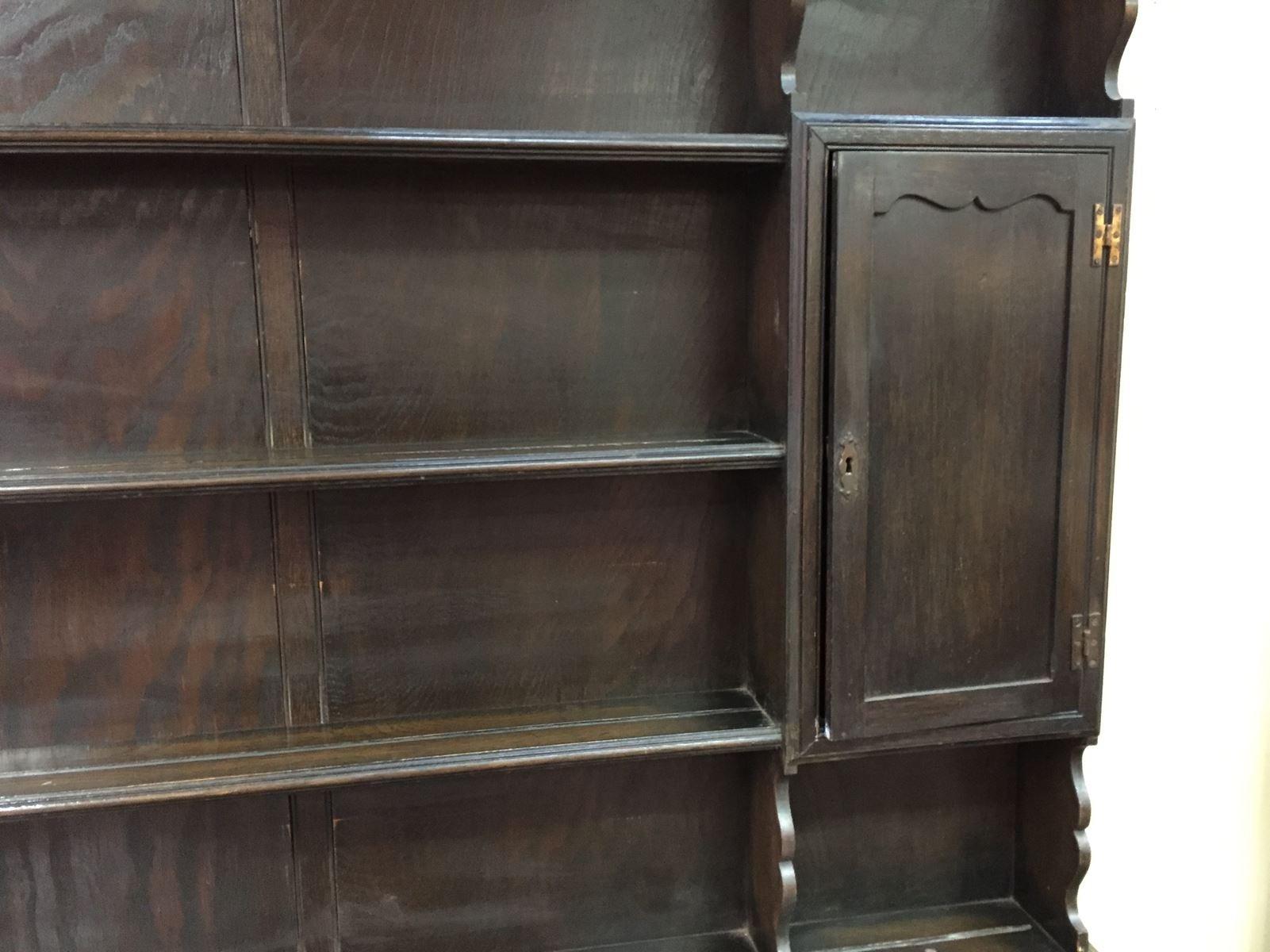 eichenschrank 19 jh bei pamono kaufen. Black Bedroom Furniture Sets. Home Design Ideas