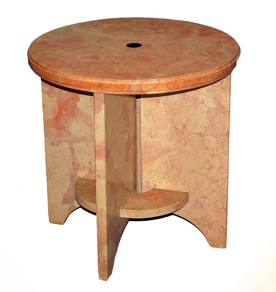 vintage piedestal beistelltisch bei pamono kaufen. Black Bedroom Furniture Sets. Home Design Ideas