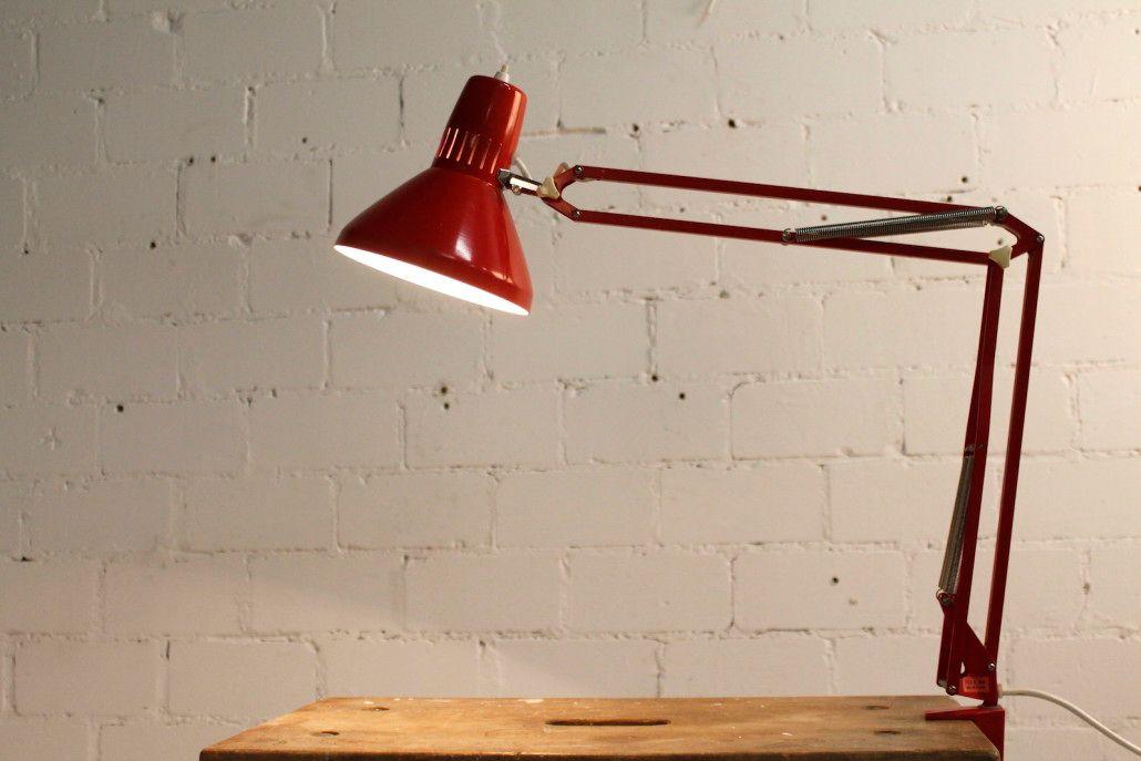 Vintage Architect Lamp From Ledu
